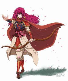 Akatsuki no Yona / Yona of the dawn anime and manga || Princess Yona crimson red dragon warrior King Hiryuu