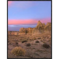 East Urban Home 'Kaiparowits Plateau, Grand Staircase, Escalante National Monument, Utah ' Framed Photographic Print on Canvas Size:
