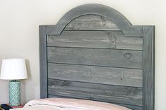 Ana White   Build a Faux Shiplap Headboard Featuring Pneumatic Addict   Free and Easy DIY Project and Furniture Plans