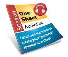 Speaker one-sheet AudioPak class