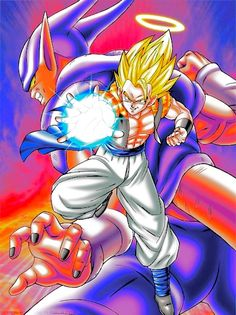 Awesome Fusion Reborn art! #dbz