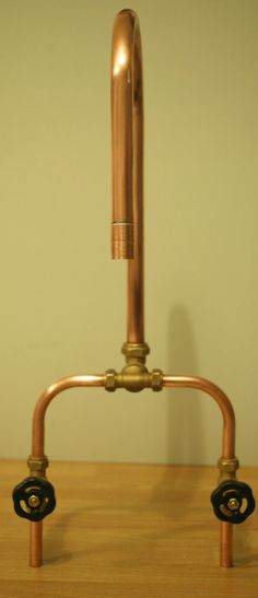 Creative and vintage looking copper industrial taps! Looks great in any kitchen or bathroom! We have fitted two bathrooms out with these