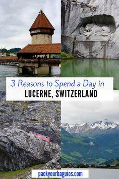 Lucerne, Switzerland | Mount Pitalus | Lake Lucerne | Cog Railway | Chapel Bridge