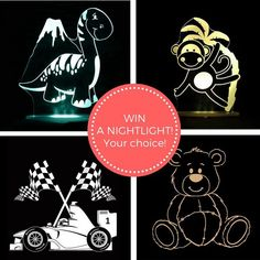 GIVEAWAY TIME!!! Lucas Loves Cars and Baby Berry Collective are giving you the chance to win a fantastic nightlight for your little one!  TO ENTER... We would love it if you were to like' both @lucaslovescars and @babyberrycollective  Then just comment below telling us which design youd like to win (dinosaur monkey racecar or teddy) And for a bonus entry feel free to tag a friend at the end of your comment.  That's it! You've entered. Easy wasn't it. Open to both Australia and New Zealand…