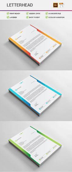 8 Best Letterhead Design Images Letterhead Stationery Printing