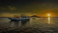 Sunset at Komodo Island by riccardolu