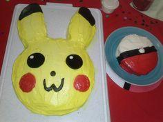 Pokemon pikachu & pokeball birthday cake diy for teen gamer