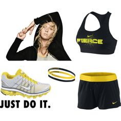Nike fierce. I will wear this one day...no shirt...just the bra!!