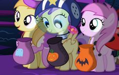 You're Never Too Old for Free Candy in My Little Pony Friendship is Magic: Spooktacular Pony Tales