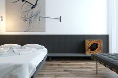 Project Cooper pearl by Sergey Makhno - bedroom render
