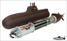 212A Model Submarine