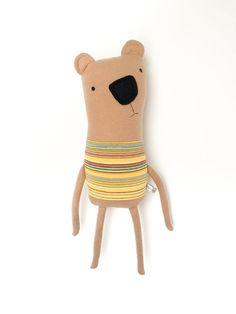 Plush Bear Friend- Finkelstein's Center Handmade Creature