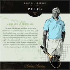 Polos- The Origin A real man knows the history behind his clothes - Study Up!