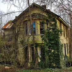 Empty Old House by clara