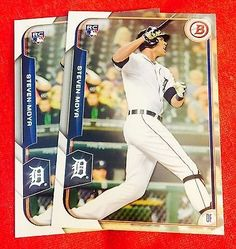 cool 2015 Bowman Baseball Rookie Card RC MINT #148 Steven Moya Lot Of 2 - For Sale View more at http://shipperscentral.com/wp/product/2015-bowman-baseball-rookie-card-rc-mint-148-steven-moya-lot-of-2-for-sale/
