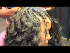 Make-over Part 1 (Partial Sew-in Tutorial) THIS IS AN AWESOME MAKE-OVER IF YOU WATCH PART 1 YOU MUST SEE PART 2 OMG! WATCH AND SEE!