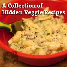 Hidden Veggie Recipes from Mama Say What?! Check out this compilation of recipes featuring hidden veggies. Great for picky kids... or picky adults!