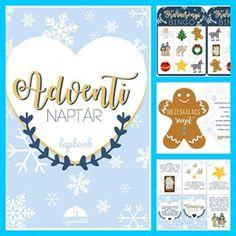 advent adventinaptar lapbook gyereketet gyerek karcsony ovodas Az j adventi naptr lapbookot megtallod a webshopban