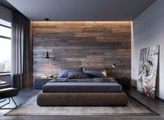 40 simple minimalist bedroom design ideas you like: . 40 simple minimalist bedroom design ideas you like: pax charging box in loop boxIKEA Germany Luxury Bedroom Design, Bedroom Loft, Master Bedroom Design, Home Decor Bedroom, Bedroom Designs, Interior Design, Simple Bedroom Design, Entryway Decor, Design Design