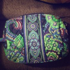 Vera Bradley makeup bag Vera Bradley makeup bag with plastic inside so as to be waterproof! Vera Bradley Makeup Brushes & Tools
