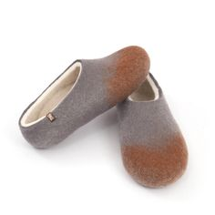 745c0d627 Wooppers from the AMIGOS Collection.Handmade in 100% wool, natural and  seamless Wooppers · Felted SlippersMens ...