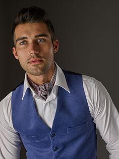 Printed silk day cravat from the Classic Collection