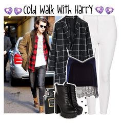 """""""Cold Walk with Harry"""" by albamonkey ❤ liked on Polyvore featuring Topshop, Chicwish, Chanel and River Island"""
