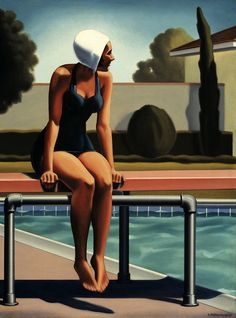 Kenton Nelson, Swim Party #1
