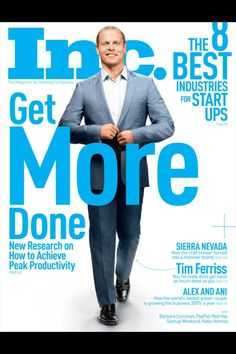 Another great Inc. magazine cover design for inspiration.
