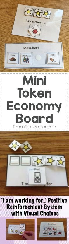 I started making mini token economies back in my first year teaching & they're still one of my most used tools! From theautismhelper.com #theautismhelper