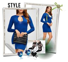 """""""Blue style"""" by mala-653 ❤ liked on Polyvore"""