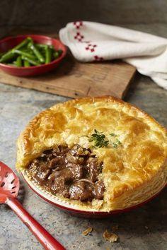 Beef + Stilton pie recipe – to die for! Beef + Stilton pie recipe – to die for! Scottish Recipes, Irish Recipes, Meat Recipes, Cooking Recipes, Scottish Meat Pie Recipe, Lamb Pie Recipes, Canadian Recipes, English Recipes, Desert Recipes