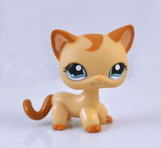 Littlest Pet Shop Cat Collection Child Girl Figure Cute Toy Loose LPS654