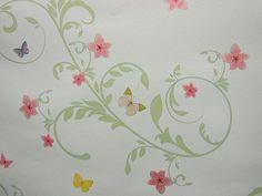AS Creation Pretty Duck Egg Blue Butterfly Wallpaper 8644-13 match for 8647-10 | eBay