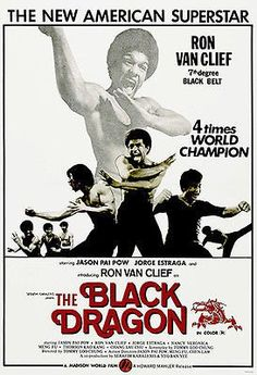 The Black Dragon - 1974 - Movie Poster