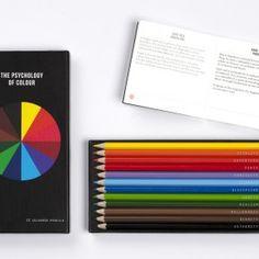 Caja de Lapices con La Psicología del Color - MF 1