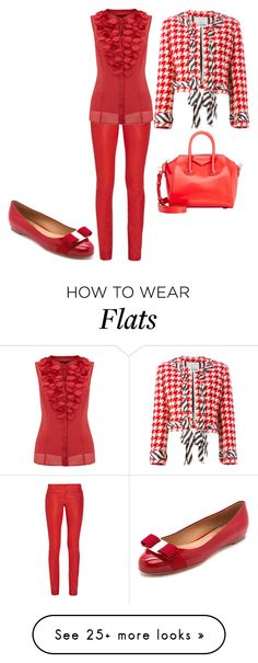 """Untitled #19969"" by edasn12 on Polyvore featuring Alice + Olivia, Coast, Moschino, Givenchy and Salvatore Ferragamo"