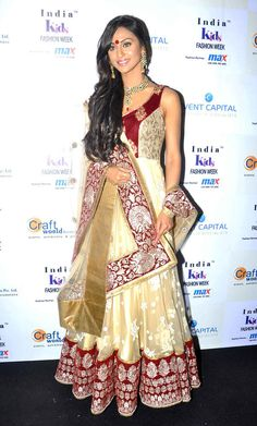 Krystle D'Souza at India Kids Fashion Week. #Style #Bollywood #Fashion #Beauty