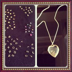 WHITE bIRD Jewellery <3 the new concept of Loquet London bespoke gold locket necklaces! Lucky charms, birth stones..