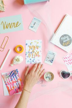 Cute stationary from Thimblepress x Glitter Guide