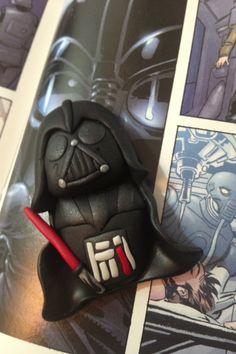 Darth Vader fimo handmade!