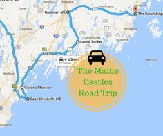 This Road Trip To Maine's Most Majestic Castles Is Like Something From A Fairytale Maine Road Trip, Camping In Maine, East Coast Road Trip, Road Trips, Acadia National Park Camping, Grand Canyon Camping, Us Travel Destinations, Family Vacation Destinations, Vacation Ideas