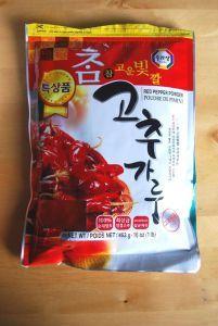koreansk chilli pulver