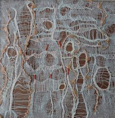 Art Textiles: Pulled threadwork