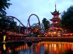 My favorite place in the world :)-Copenhagen, Denmark (Tivoli Amusement Park) @Brittany Powell