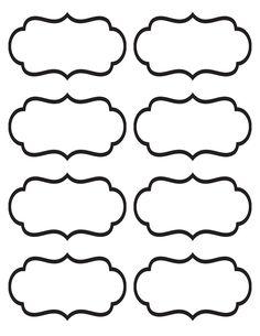 Labels Free Printables On Pinterest Free Frames Clip