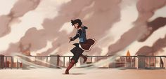 """""""I can Airbend! I can Airbend!"""" Korra came a long way since then"""