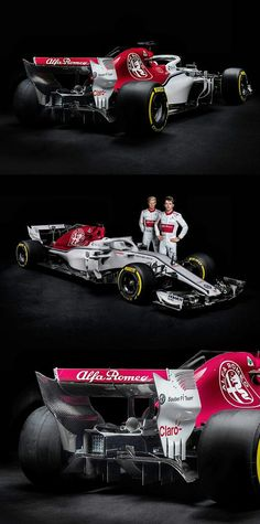 New Alfa Romeo Sauber C37 unveiled for the 2018 F1 season. The red and white livery is striking, while the aero technical design elements are on the conservative side. Team drivers Marcus Ericsson and Charles Leclerc were on hand for the unveiling of the new car. Ericsson wants to make a breakthrough in his fourth year at Sauber, and Ferrari Junior Leclerc will replace 2017 driver Pascal Wehrlein.  #F1 #Formula1 #SauberF1 #AlfaRomeoF1 #MarcusEricsson #CharlesLeclerc