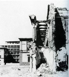 Alte Pinakothek um 1949, © Staatliches Bauamt München I