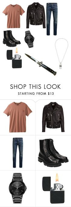 """James (silver gang)"" by thisrandomfashion on Polyvore featuring prAna, Yves Saint Laurent, Jack & Jones, Jil Sander, Citizen, Dsquared2, men's fashion and menswear"